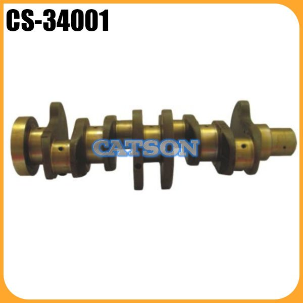 6735-01-1310 6732-31-1100 crankshaft price excavator engine crankshaft for PC120-6 4D102