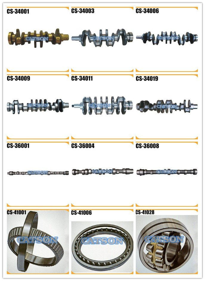 diesel engine parts, crankshaft shaft, camshaft