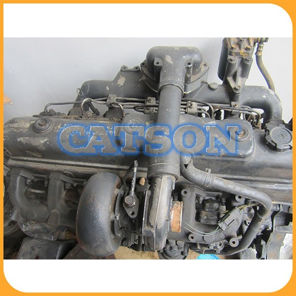 Kato HD820 6D34 engine assy 1