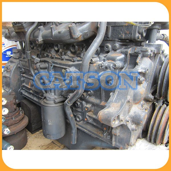 Kato HD820 6D34 engine assy 2