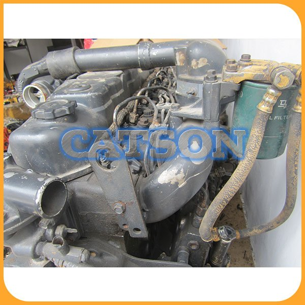 Kato HD820 6D34 engine assy 3