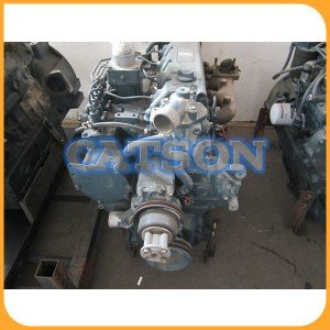 Kubota V3300 engine assy  3